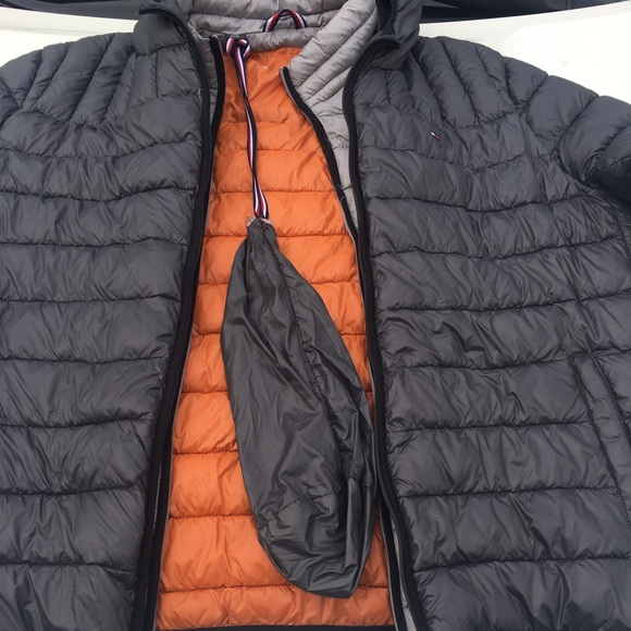 60% clearance colours and striking wide selection of colors Tommy Hilfiger Bubble jacket